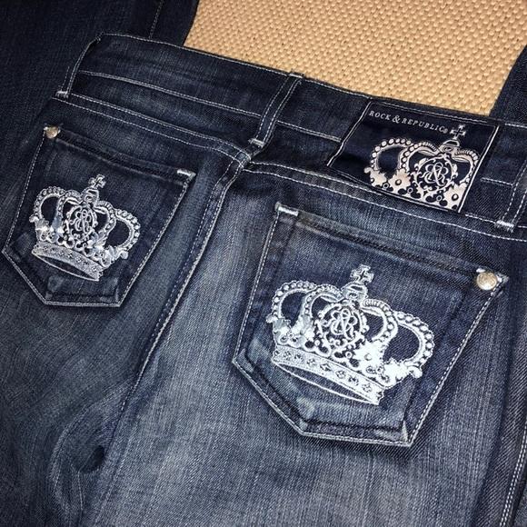 Rock & Republic Denim - Rock & Republic Tall Flare Jeans
